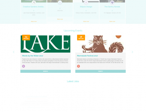 Our new website the Lakes.Directory now live